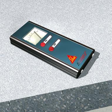 Bodenbeschichtung - Messen Feuchtigkeit