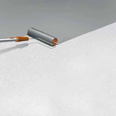 Allikationstechnik - Einstreubeschichtung Deckschicht