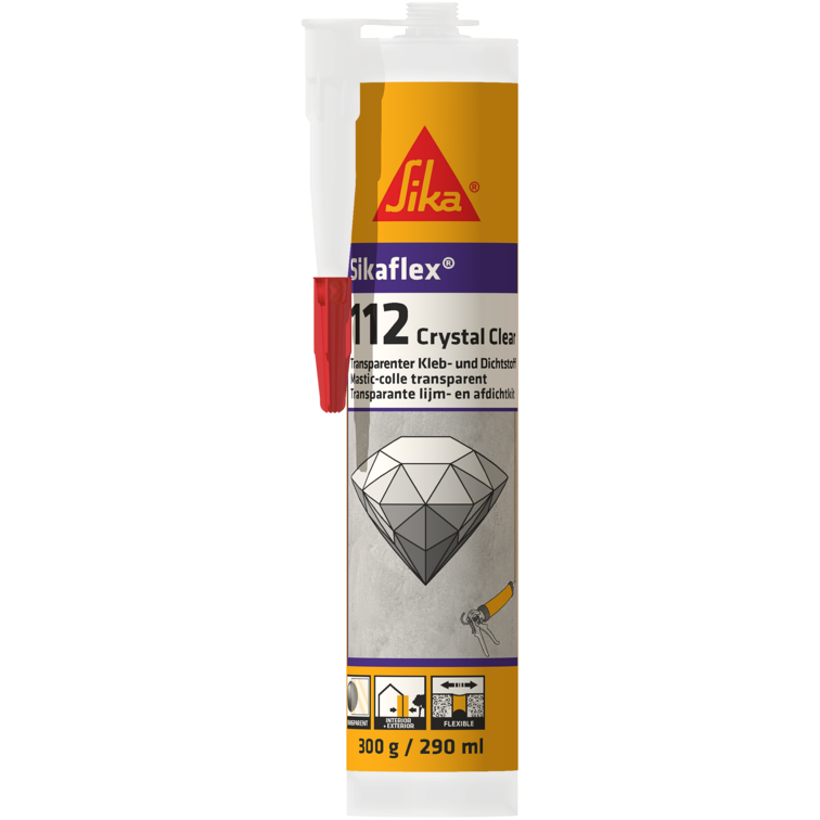Sikaflex®-112 Crystal Clear