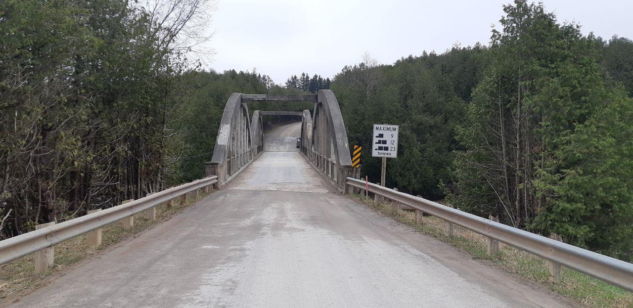 Bridge, Caledonia, Before