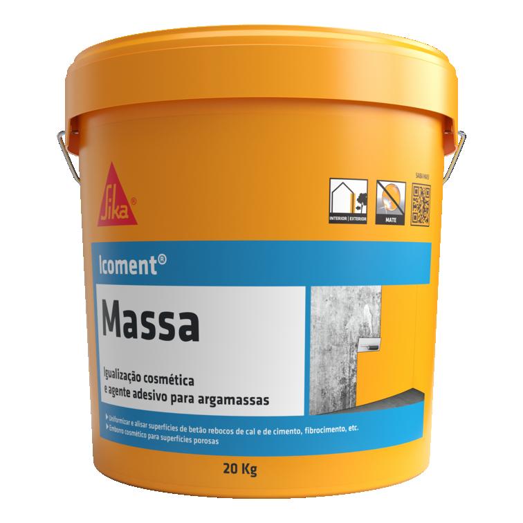 Icoment® Massa | Regularizar betão | Proteger betão | Revestimento betão