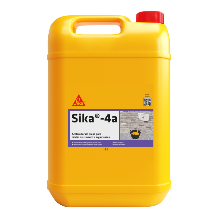 Sika®-4a | Selagem de infiltrações
