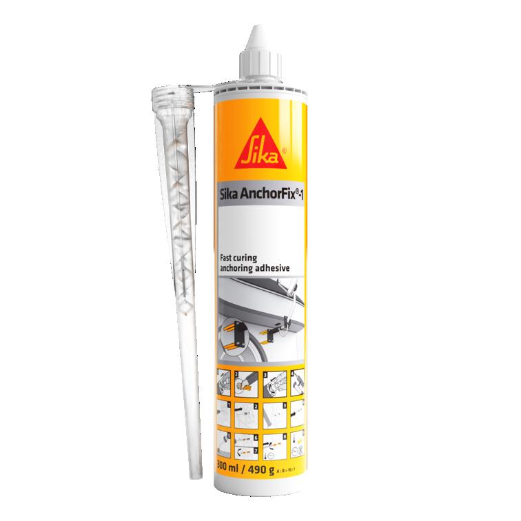 Sika AnchorFix®-1 | Bucha Quimica | Chumbador químico | Ancoragem rápida