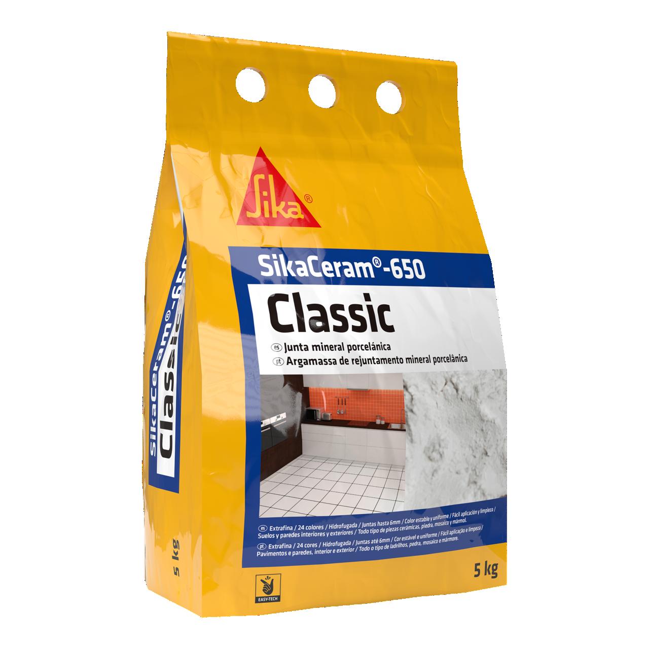 SikaCeram®-650 Classic | Selar Juntas Cerâmicas | Ideias e soluções para Cerâmicos Sika Consigo