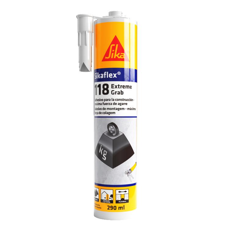 Sikaflex®-118 Extreme Grab | Cola para construção | Cola pedras | Cola extra forte