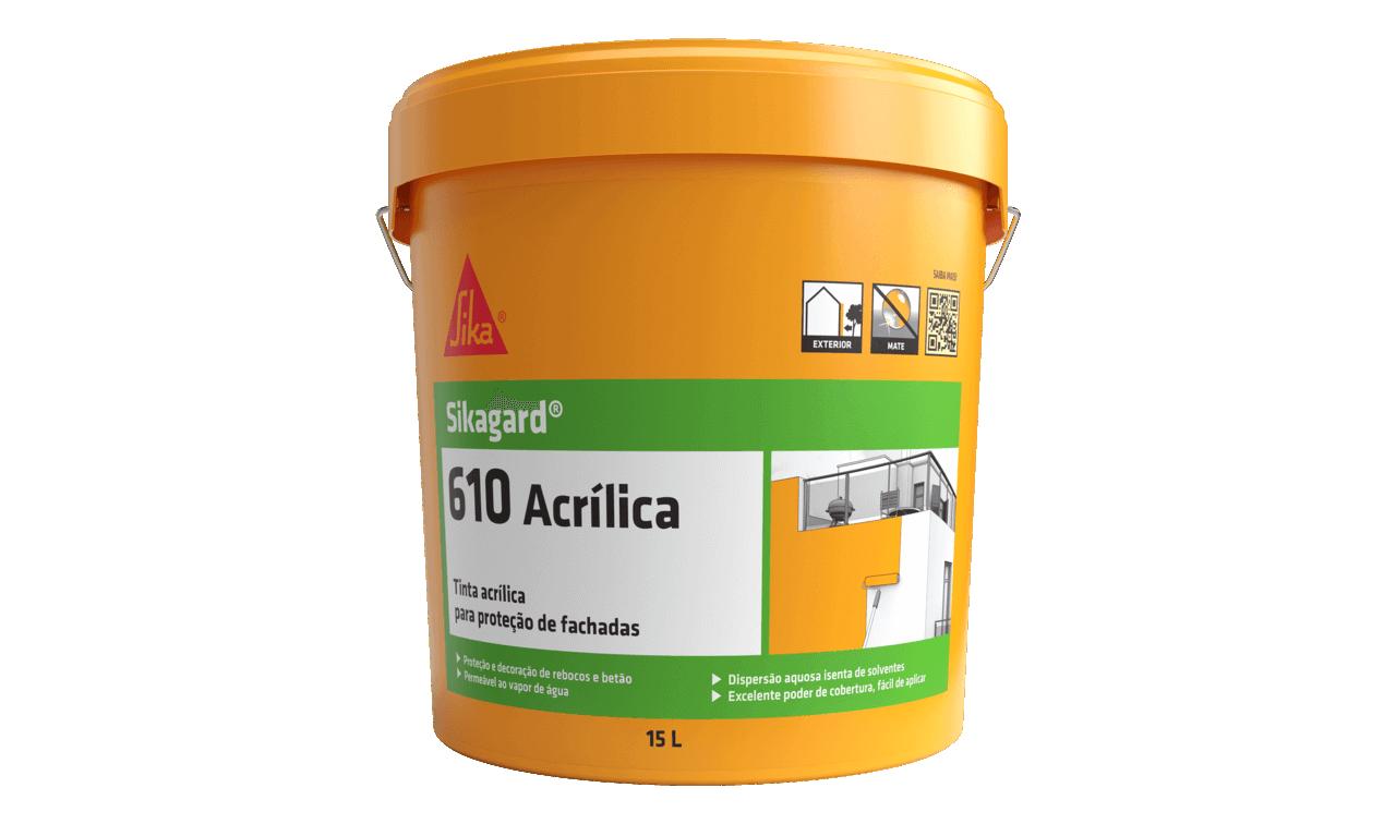 Sikagard®-610 Acrílica | Tinta acrílica | Tinta exterior
