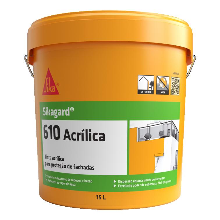 Sikagard®-610 Acrílica   Tinta acrílica   Tinta exterior