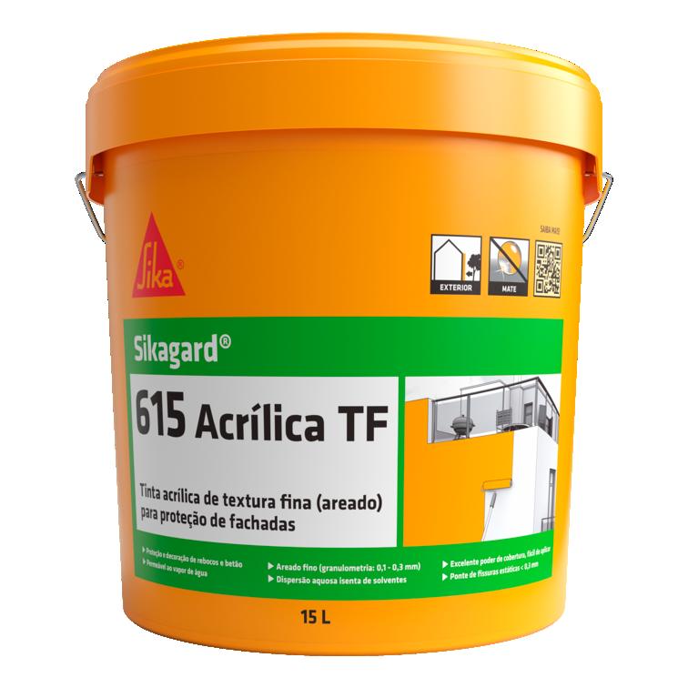 Sikagard®-615 Acrílica TF | Tinta acrílica | Tinta exterior | Textura areada fina