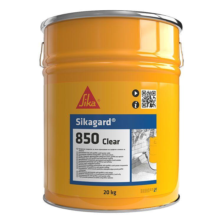 Sikagard®®-850 Clear | Anti-Graffiti | Anti-Cartaz | Proteção incolor