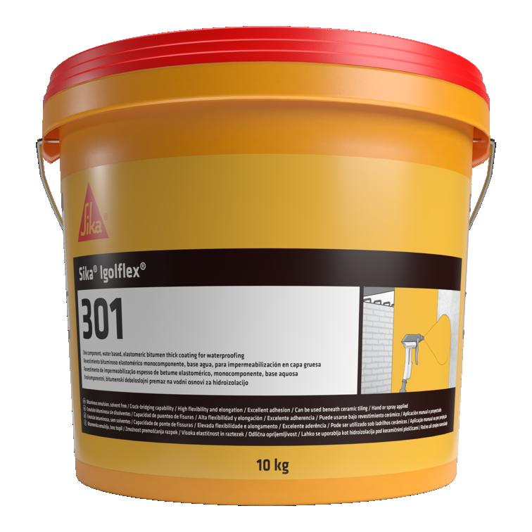 Sika® igolflex®-301 | Membrana líquida de impermeabilização | Betuminoso