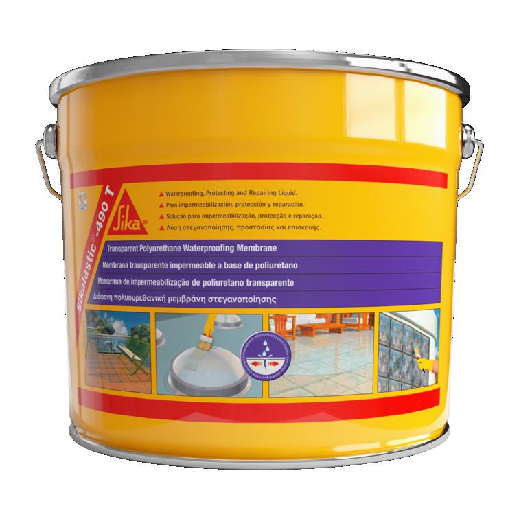 Sikalistic®-490 T | Membrana impermeabilizante transparente