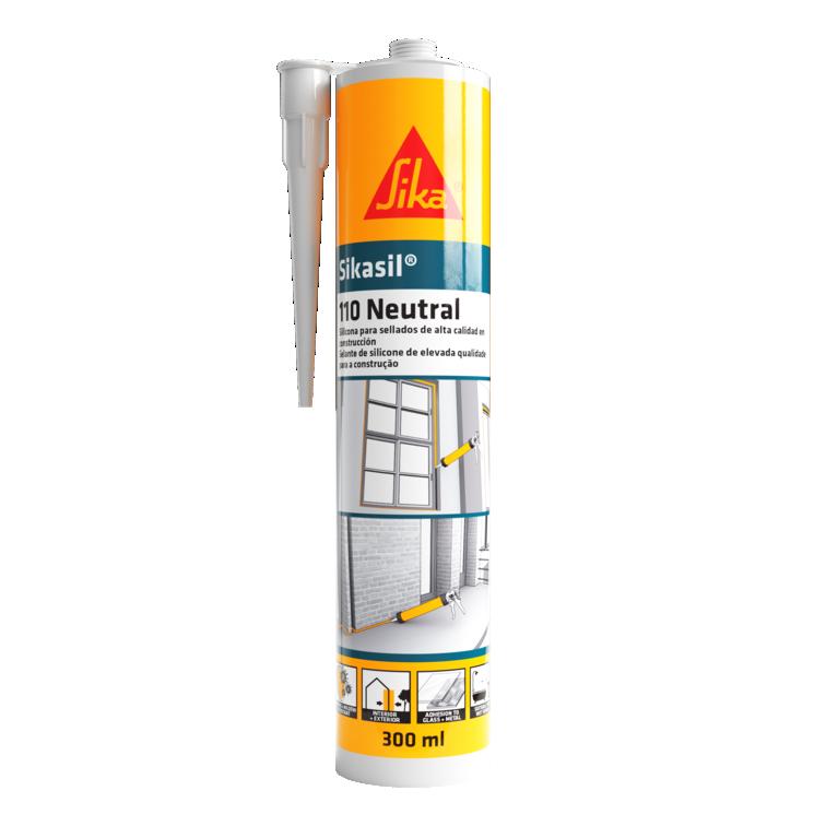Sikasil®-110 Neutral | Selante de Juntas Flexível Transparente | Ideias e soluções para Cerâmicos Sika Consigo