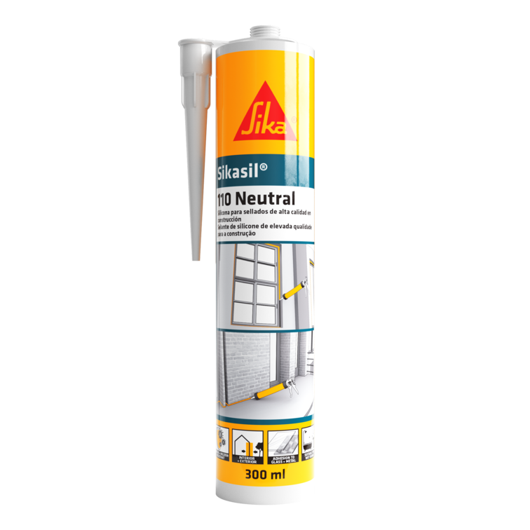 Sikasil®-110 Neutral   Selante de silicone   Neutro