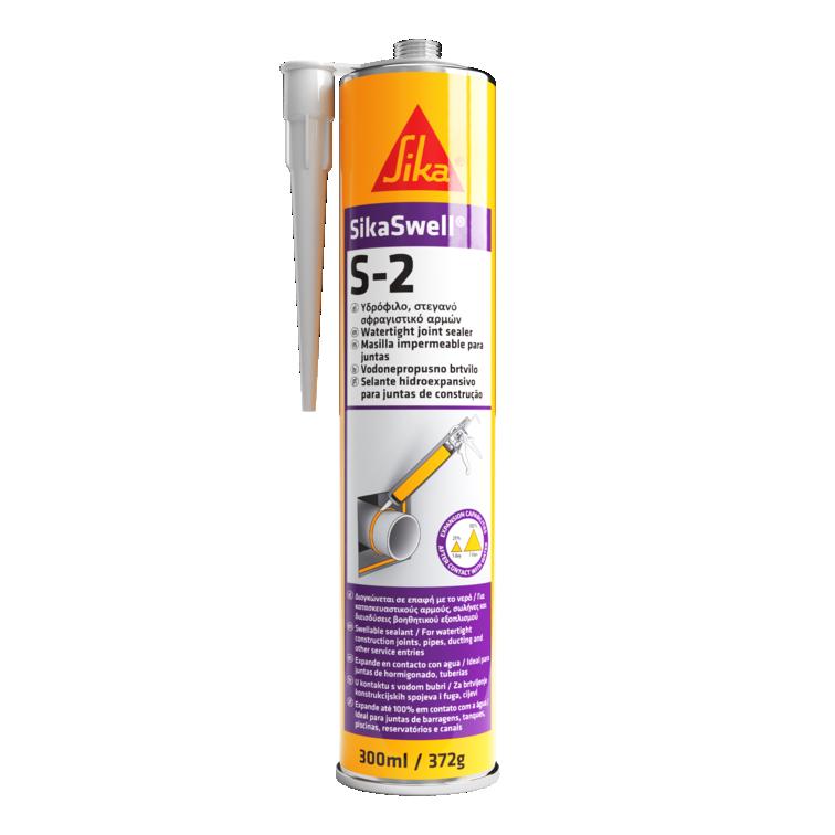 SikaSwell® S-2   Selagem de juntas   Selagem hidroexpansiva