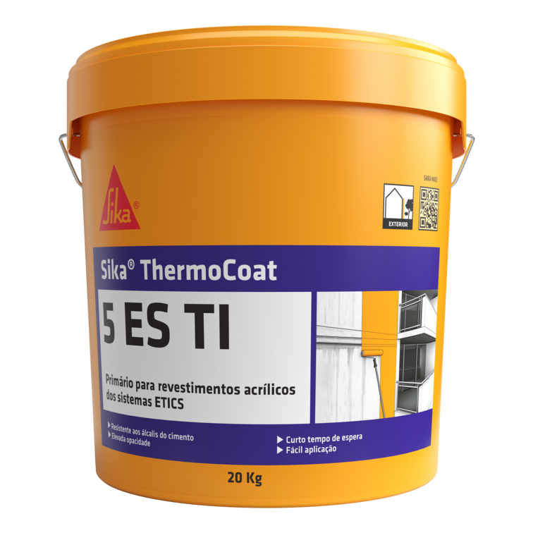 Sika® ThermoCoat-5 ES TI | Isolamento Térmico Exterior (ETICS) | Ideias e Soluções para fachadas Sika Consigo