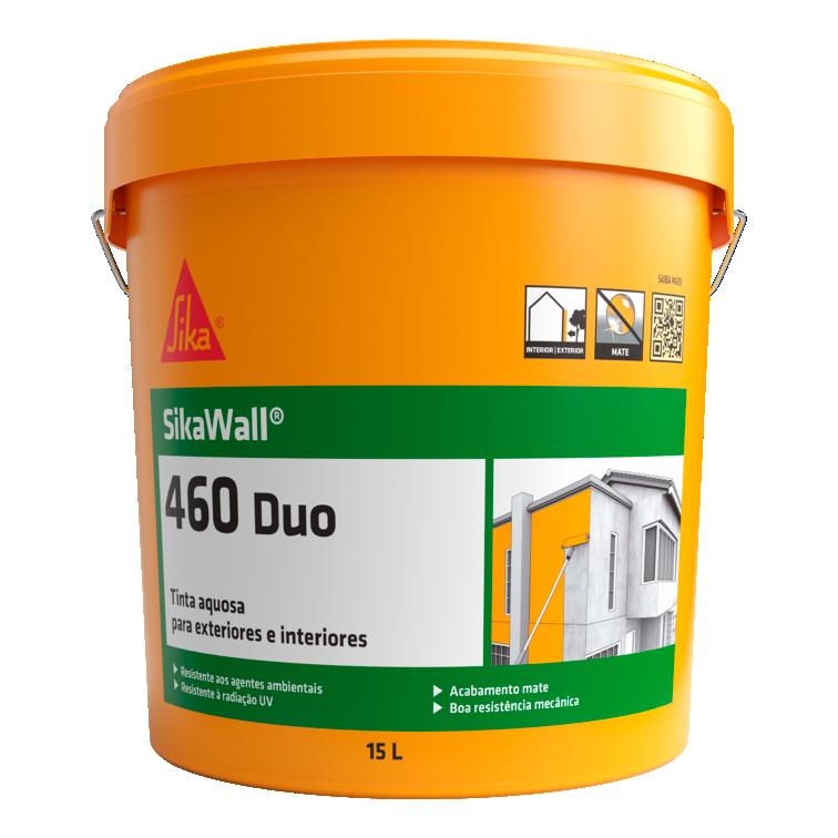 SikaWall®-460 Duo | Tinta para interior e exterior | Mate