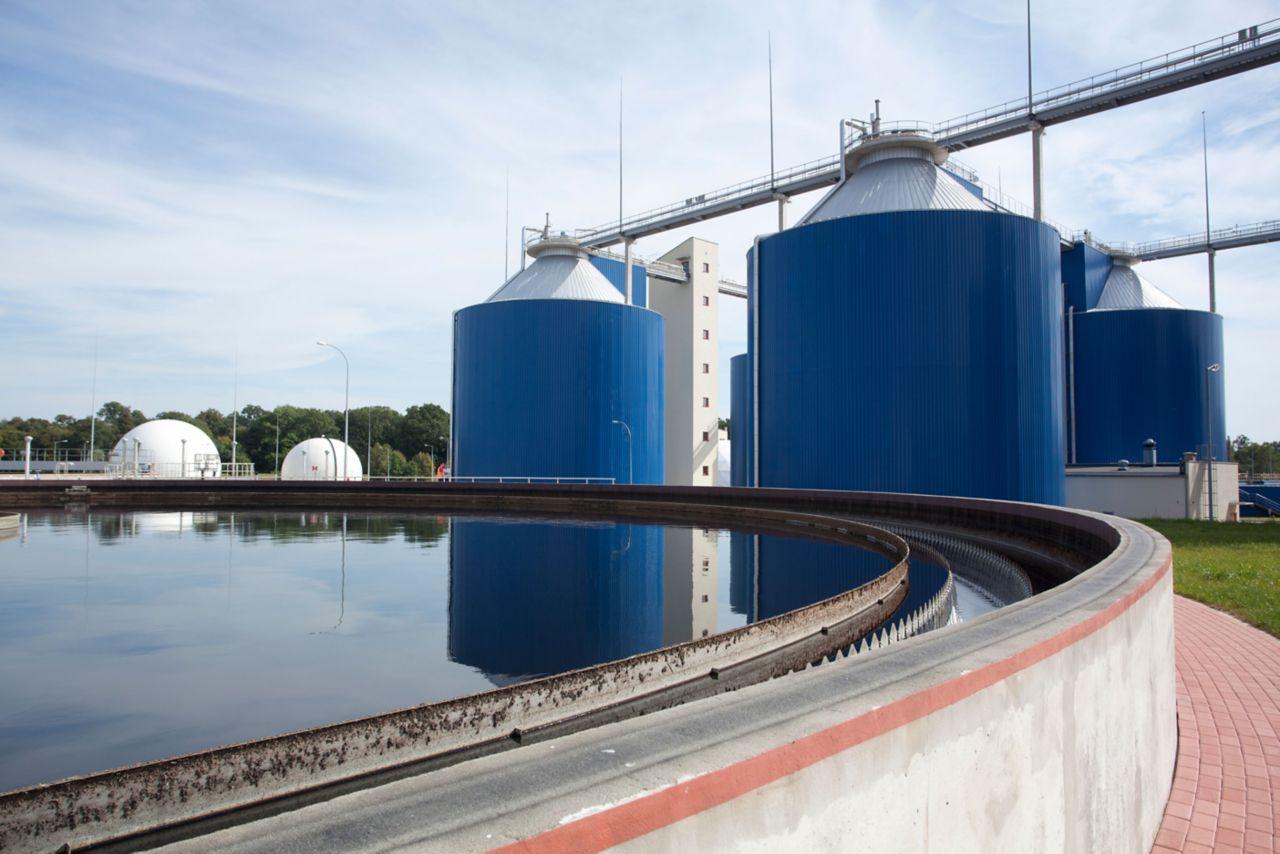 vattentätning reningsverk