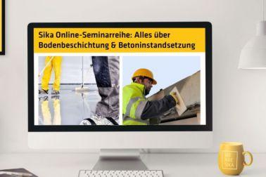 Sika Online-Seminarreihe - Alles über Bodenbeschichtung & Betoninstandsetzung