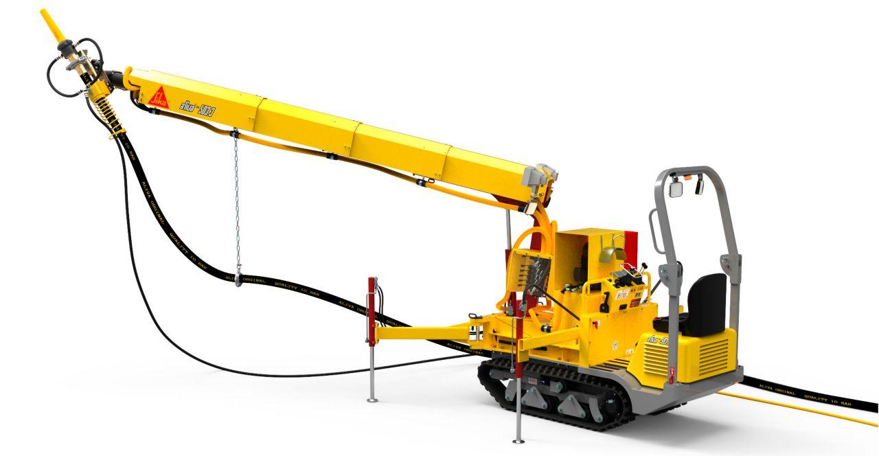 Aliva-503.3 Shotcrete robot