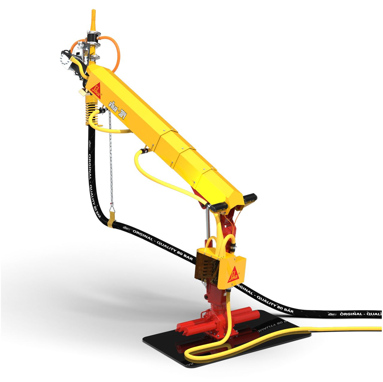 Aliva-304 shotcrete spraying arm