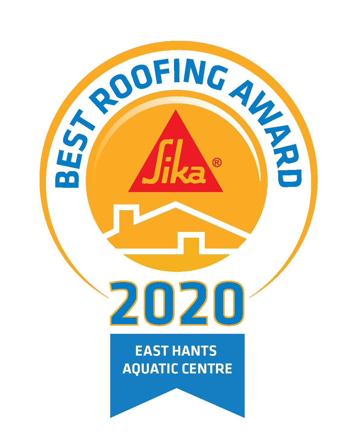 Best Roofing Award_logo_Aquatic Center