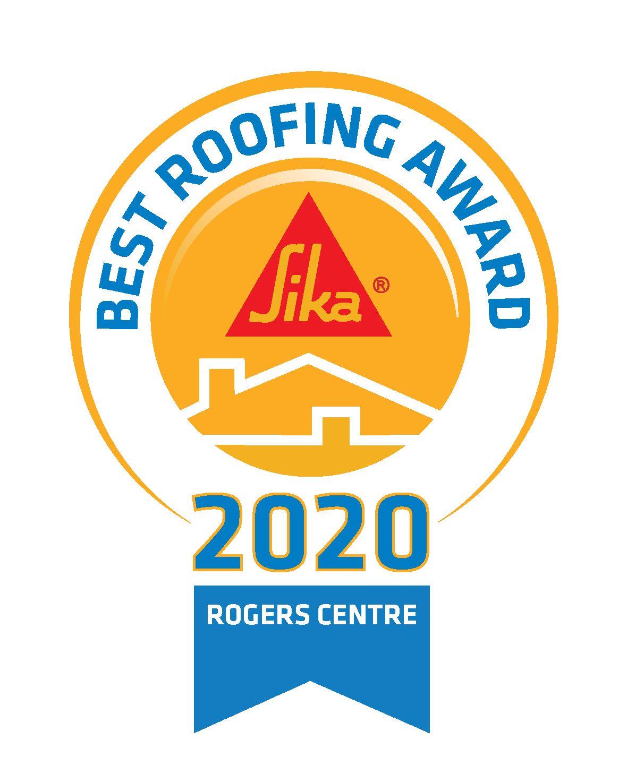 Best Roofing Award_logo_roger centre