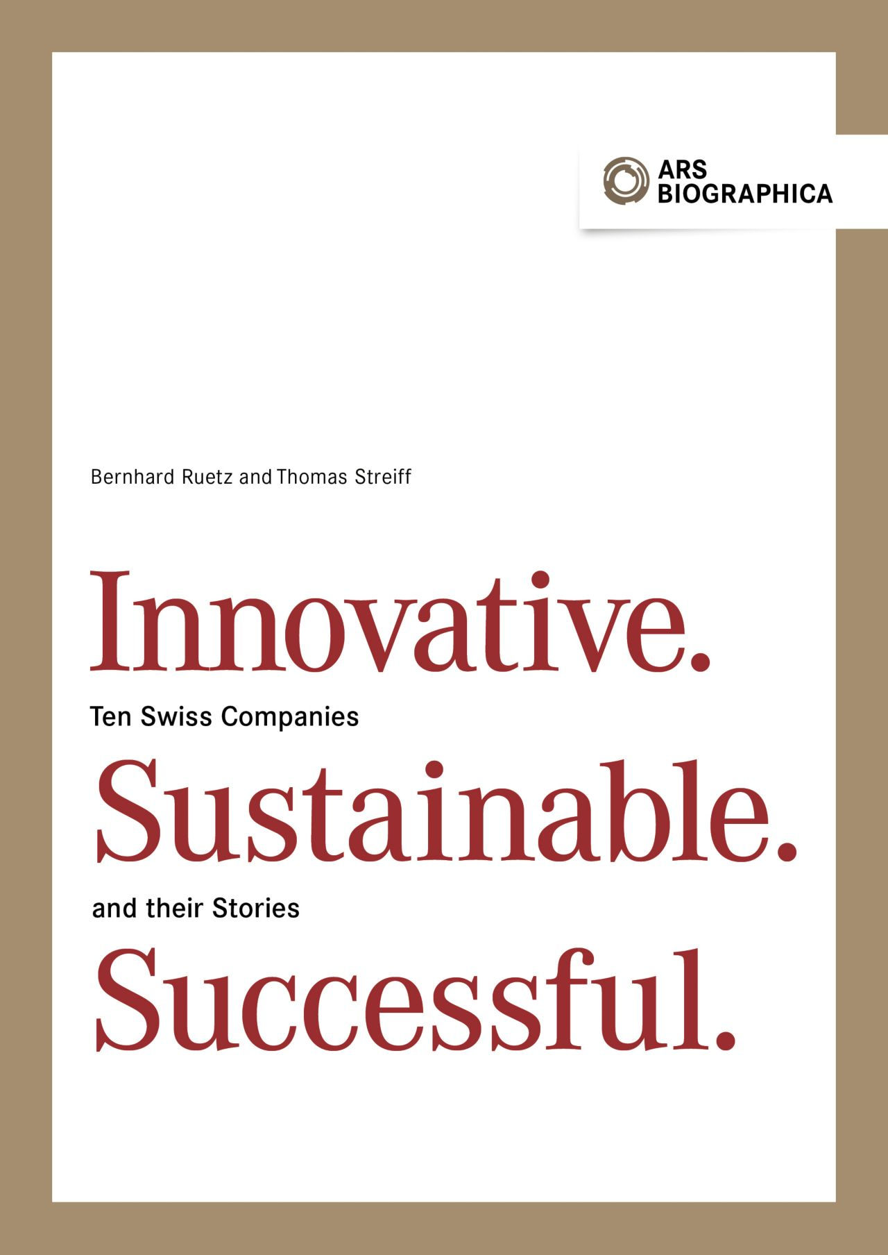 New Publication: Innovative. Sustaionable. Successful.