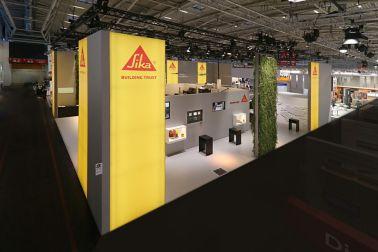 Sika Deutschland: Messestand Bau 2019