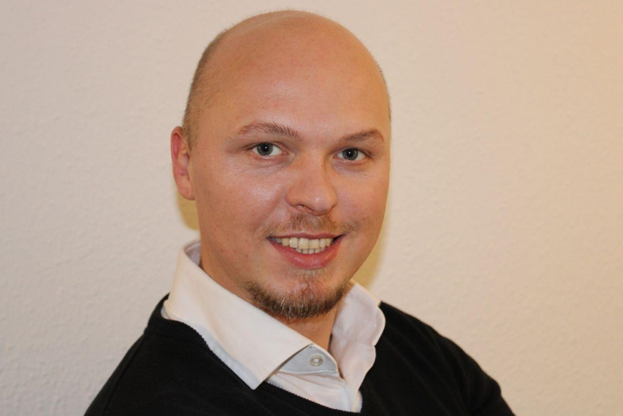 Mitarbeiter Patrick Lipiec
