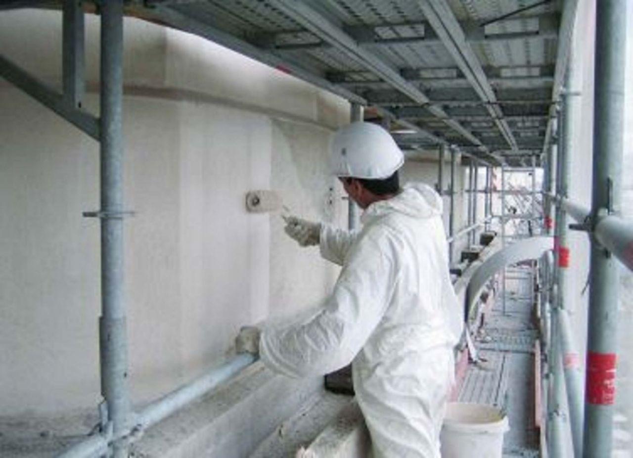Fair faced concrete protection