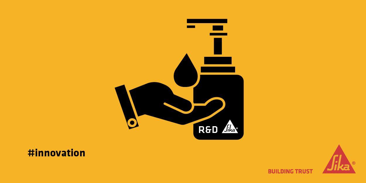 Hand sanitiser production
