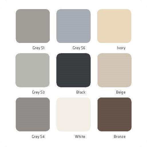 Colour Card Facades