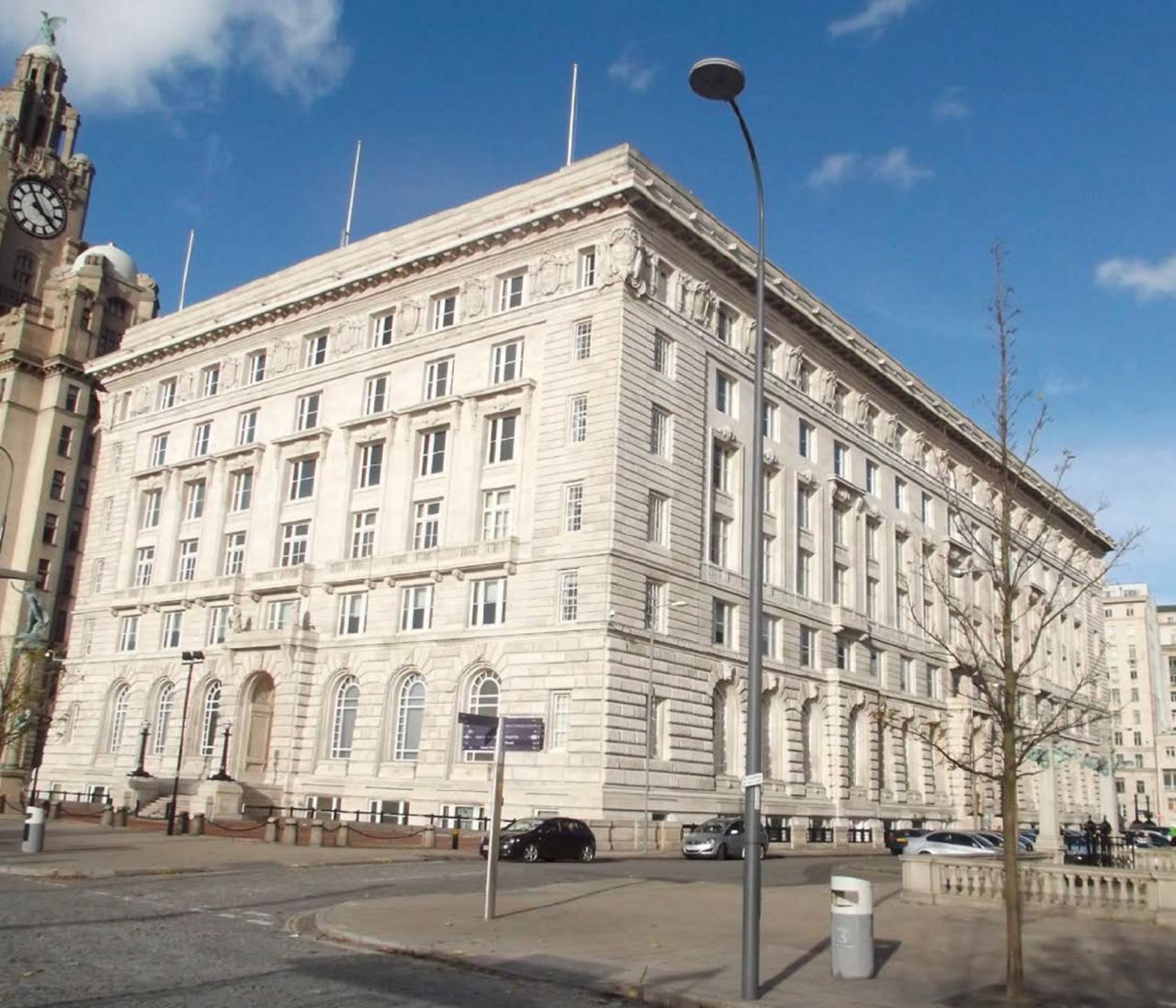 The Cunard Building Structural Strengthening