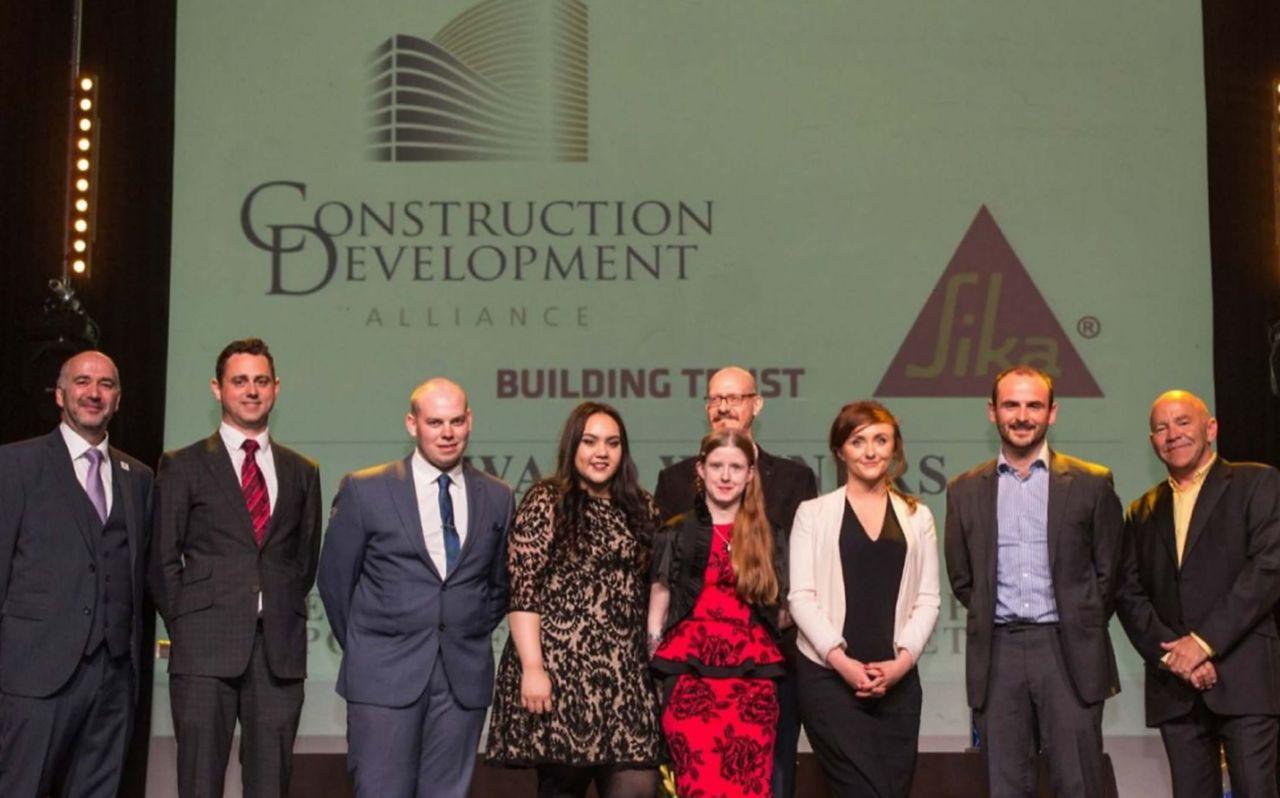 Winners of the annual Construction Development Alliance (CDA) Awards