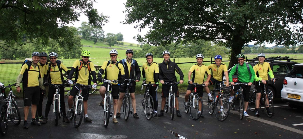 Sika Charity bike ride 2013