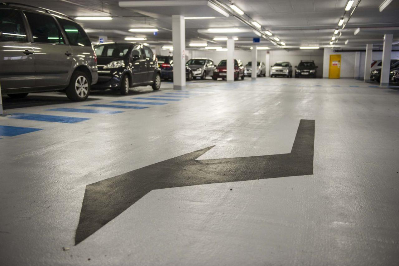 Regency car park project