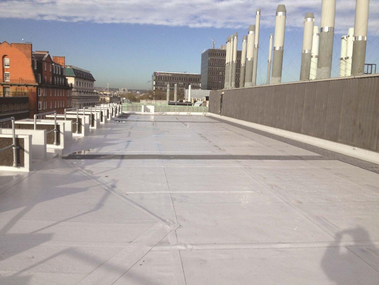 Sika Sarnafil UCL Flat Roof Project