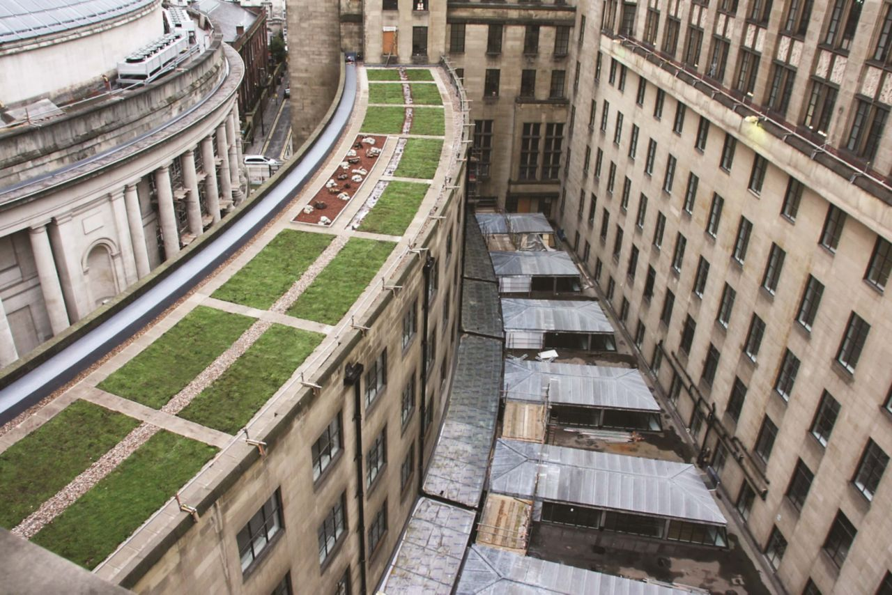 Sika Liquid Plastics flat roofing project