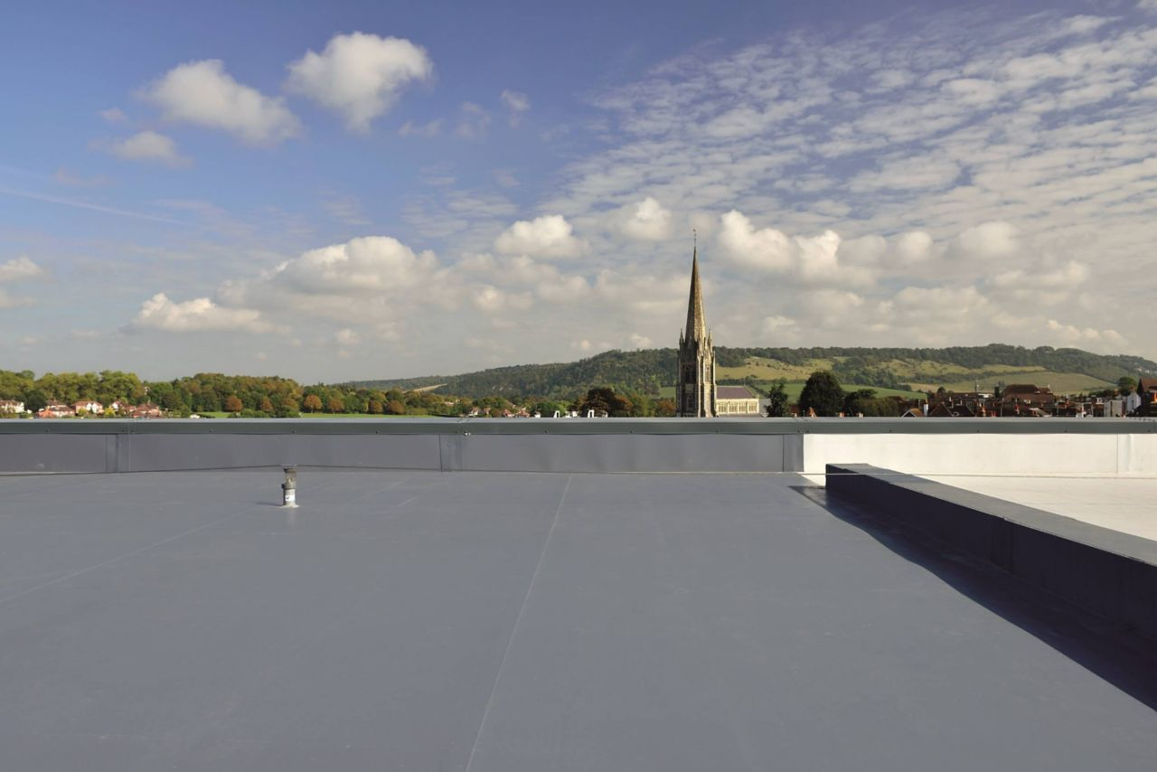 Sika-Trocal flat roofing project