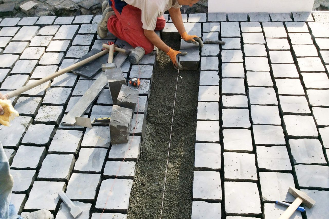 Road work and landscaping