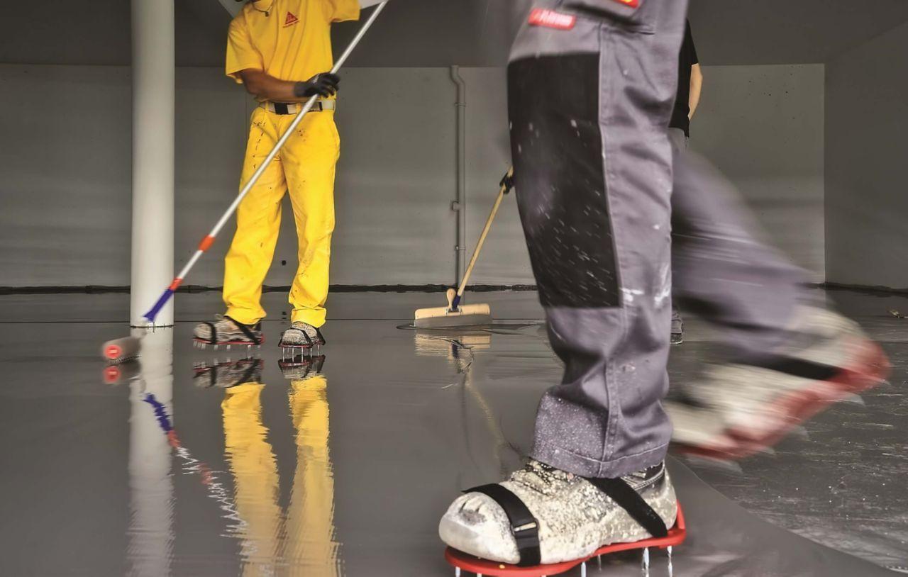 Sika flooring application image