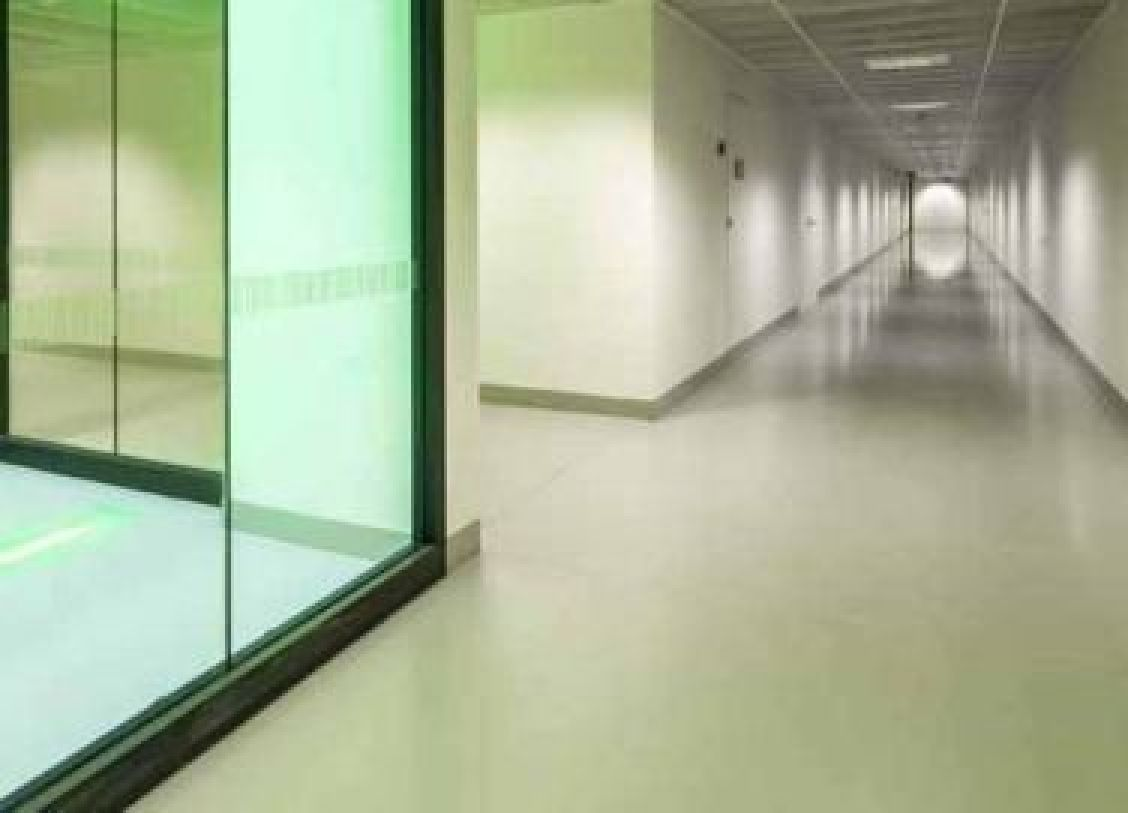 Seamless flooring for hygiene