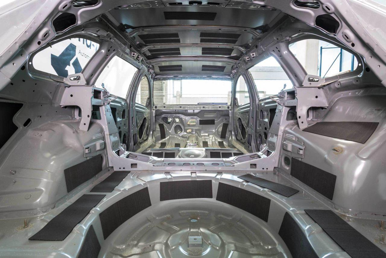 SikaDamp - akustické vlastnosti automobilů