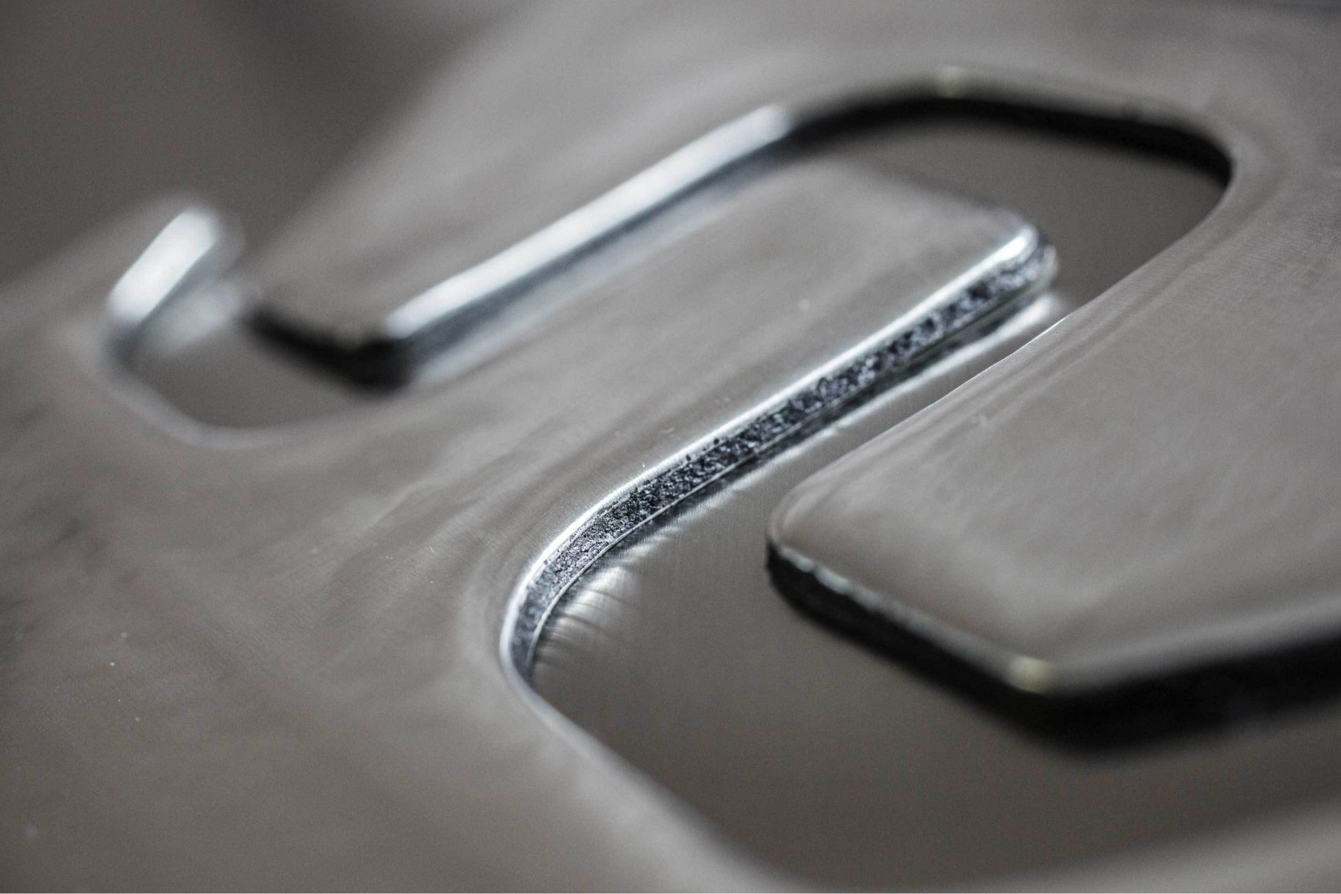 Metal substrate with custom die cut ultra-lightweight SikaDamp