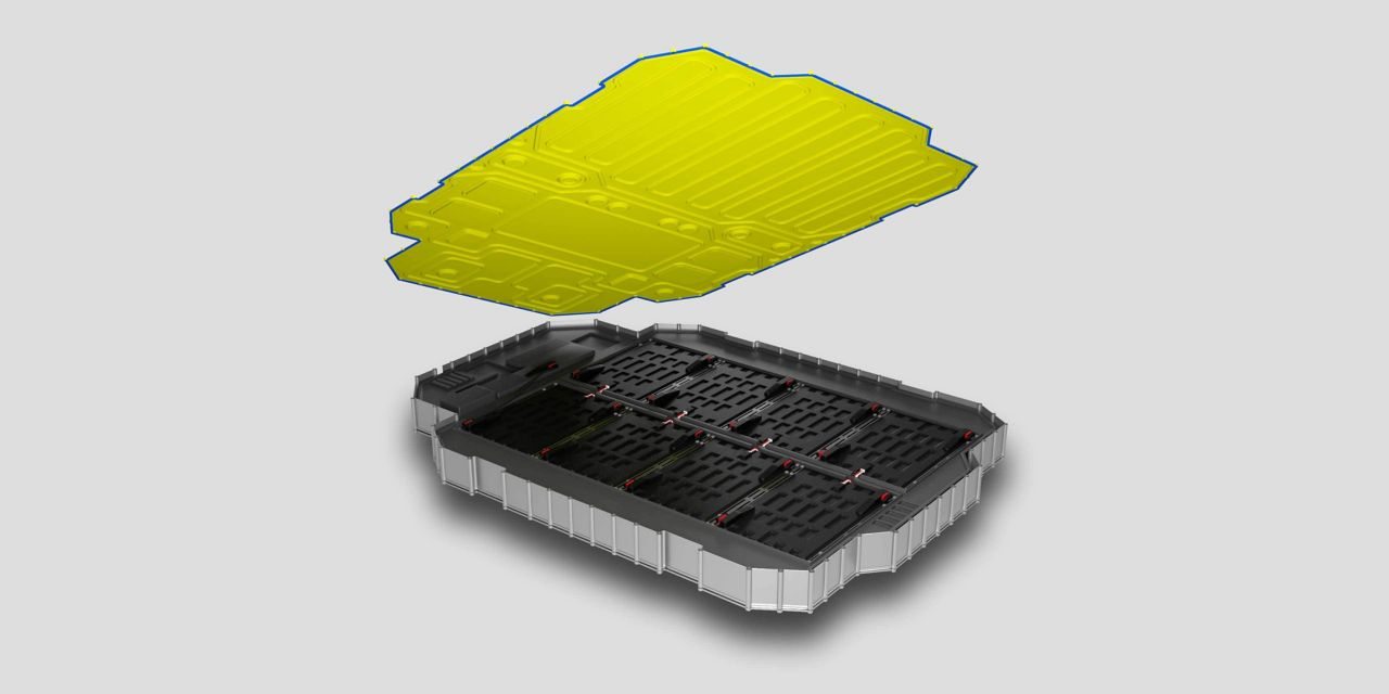 Electric Vehicle Battery Lid Sealing