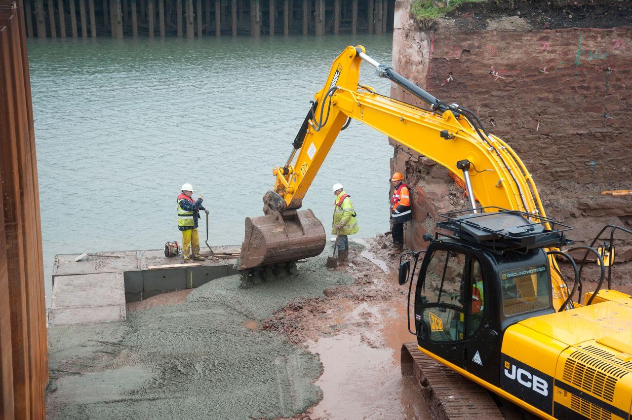 Underwater Concrete