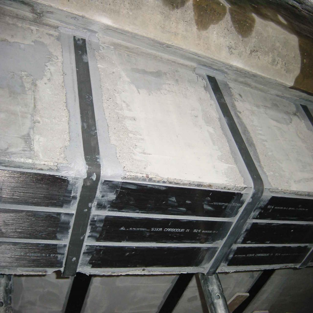 IE-Concrete Repair-Beam Strengthening