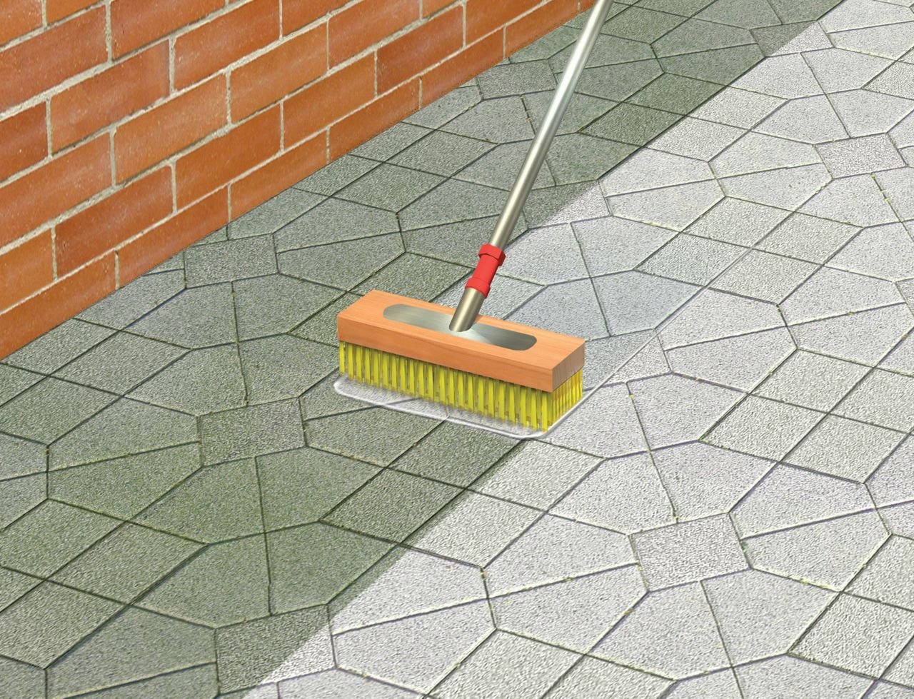 Make it pro brick and patio cleaner