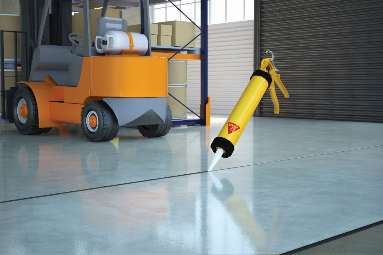 Make it Pro Seal Garage Floor Joints