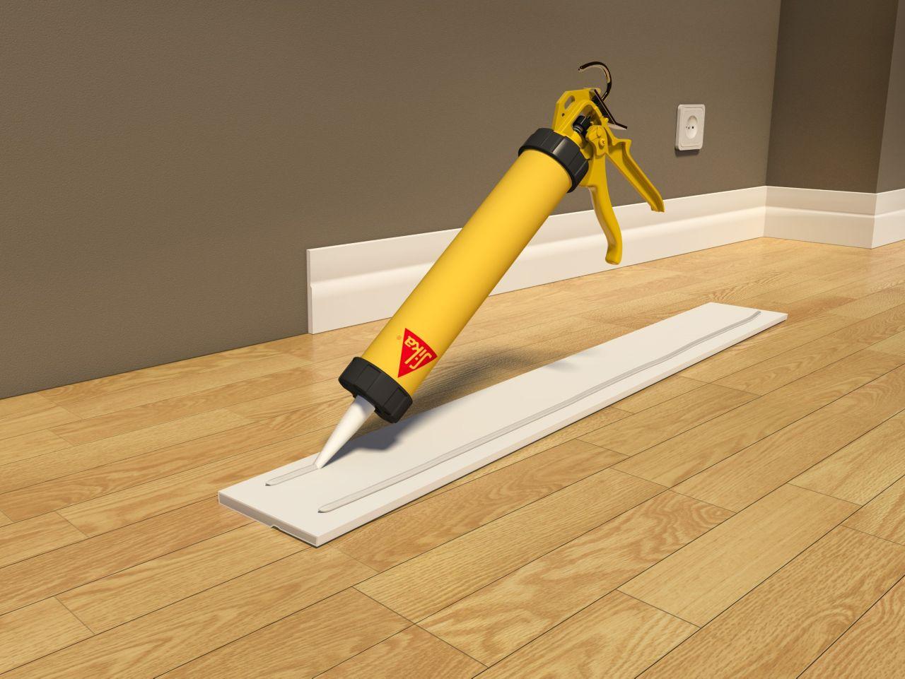 Make it Pro Fixing Skirting Board